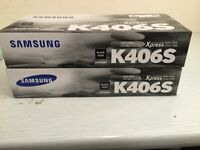 SAMSUNG BLACK TONER CARTRIDGE. X2 £35 or both for £60