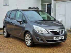 image for 2012 Vauxhall Meriva 1.4 i 16v SE 5dr (a/c) MPV Petrol Manual