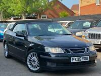 2005 Saab 9-3 2.0 T Vector 2dr Convertible Petrol Manual