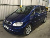 2004 VAUXHALL ZAFIRA 2.2 SRi SPORT 87K LOW MILES! NEW MOT! 7 SEATER