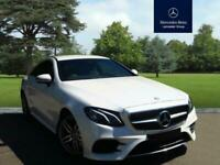 2017 Mercedes-Benz E Class E220d AMG Line 2dr 9G-Tronic Diesel white Automatic, used for sale  Leigh-on-Sea, Essex