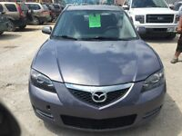 2009 MAZDA3 WITH FRESH SAFETY AND MINT CONDITION