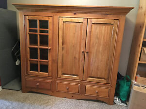 Handcrafted Entertainment Unit