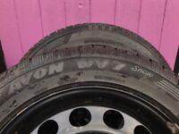Skoda Octavia - Avon winter wheels with tyres.