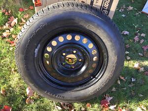 """(1) tire and rim Impala 16"""" pneu et jante 20.00$"""