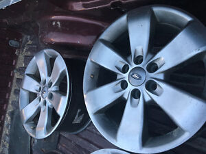 Ford F-150 fx4 20 inch rims-charcoal grey