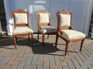 Late 1800's chairs