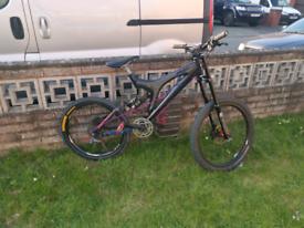 Specialized big hit dh bike mountain bike down hill