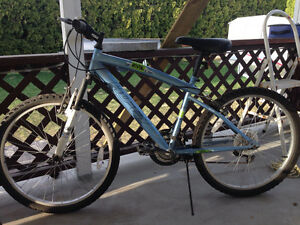 "24"" mountain bike 2yrs old but never used!"