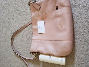 Coach and fossil leather bags
