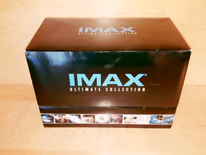 Imax Ultimate Collection All DVDs are sealed never opend The box