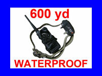 600 Yard WATERPROOF 7 LEVEL SHOCK VIBRATION COLLAR AT-216S-550S
