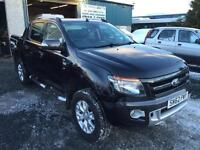 Ford Ranger 3.2TDCi 2013 62 Reg 200PS EU5 4x4 Wildtrak Double Cab