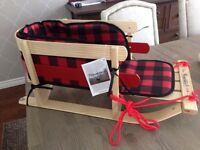 Save $150+ New Wood Kids Grizzly Sleigh by Steamridge
