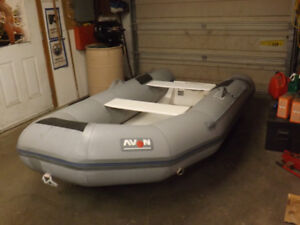10 ft inflatable boat fiberglass bottom