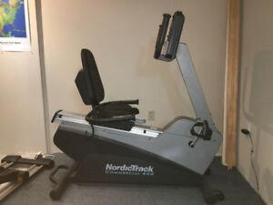 NordicTrack Recumbant Bike Commercial 400