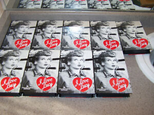 9 VINTAGE VHS - I LOVE LUCY videos CBS