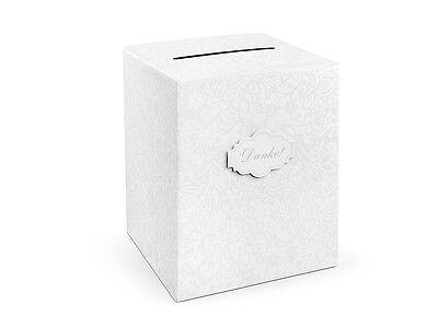 Geschenkkarten Box -DANKE- zur Hochzeit - 25x25x30 cm Geldbox