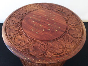 Uber Rare Tibetan / Indian Travel Table  SEE VIDEO