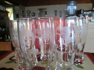 LIMITED EDITION KELSEY'S HUNGRY FOR HOCKEY BEER GLASSES Peterborough Peterborough Area image 2