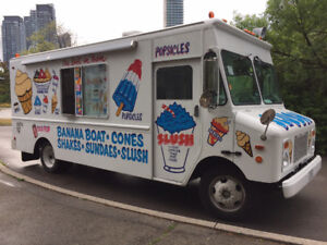 Ice cream truck driver G license wanted