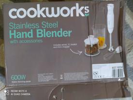 Cookerworks hand blender
