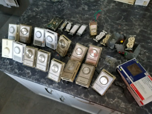 HONEYWELL THERMOSTATS, LIGHT SWITCHES, OUTLETS FOR SALE!!!