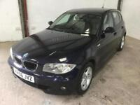 BMW 1 SERIES 120D SPORT 2006 Diesel Manual in Blue
