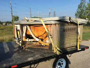 Hot tub moving or disposal new or used trust the hot tub pros