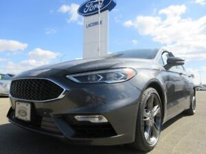 2017 Ford Fusion SPORT AWD CERTIFIED PRE-OWNED