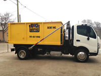 $125 Bin Rental, Dumpster Rental, Junk Removal, Garbage Disposal