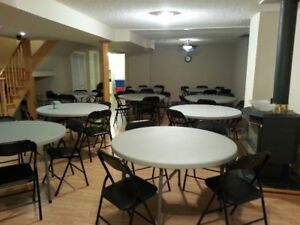 Party rentals, Chairs, Tables, Table cloths for rent !!!!!!