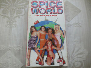 SPICE WORLD The Spice Girls Movie VHS