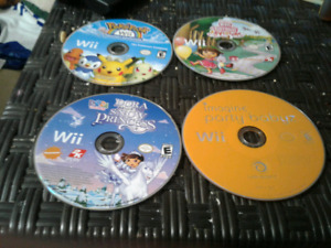 Lot of 4 Wii Games
