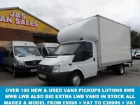 LUTON VAN LWB 13,6 LWB + 500 KG TAILIFT TWIN REAR WHEEL