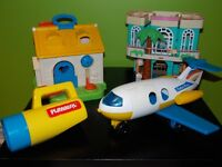 JOUETS FISHER PRICE ET PLAYSCKOOL VINTAGE