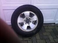 Tacoma or 4 runner 265/65/17 tires on rims