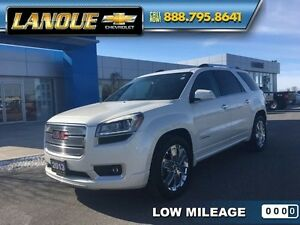 2013 GMC Acadia Denali   LOW KMS-AWD- DRIVEN BY OWNER'S MOTHER