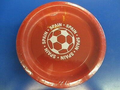 Spain Furia Roja Red Fury FIFA World Cup Soccer Sports Party 9