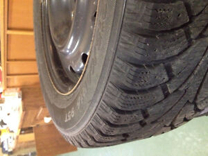 4 Hancook I Pike Winter Tires with rims