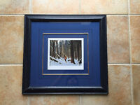 CLARENCE GAGNON The Trapper Limited Edition Framed Print 495/495