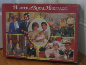 "GENUINE COLLECTOR'S ""ROYAL FAMILY"" JIG-SAW-PUZZLE""..WADDINGTON"