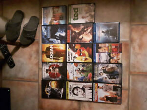 14 newer dvds 20$ for all or 2$ each text or call 9053240986