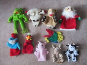 Hand Puppet Assortment
