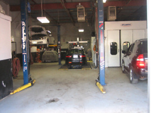 Omvic approved retail sales with body shop and machanics