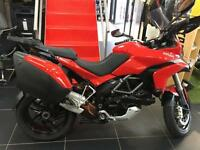 DUCATI MULTISTRADA 1200 S TOURING RED 1 OWNER BIKE FULL SERVICE HISTORY