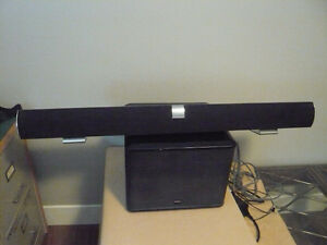 VIZIO SOUND BAR WITH BOSTON SUB-WOFFER