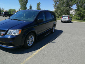 Adapted Dodge Grand Caravan SXT 2014
