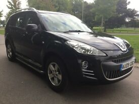 Peugeot 4007 2.2 HDI SE 156 4X4 Good / Bad Credit Car Finance (black) 2009