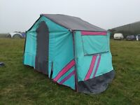 Raclet Jade trailer tent and awning, 4 berth